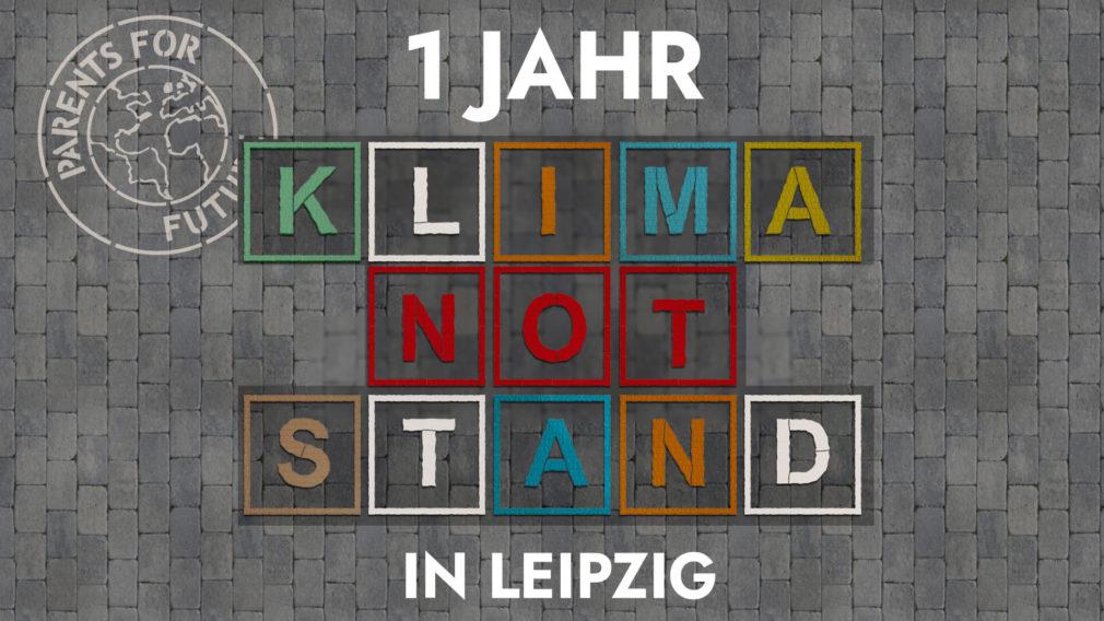 Klimanotstand Leipzig 2020